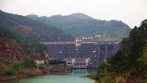 惠州白盆珠水库